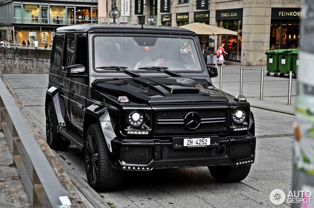 Mercedes Benz Brabus G 63 Amg B63 620 24 January 2015