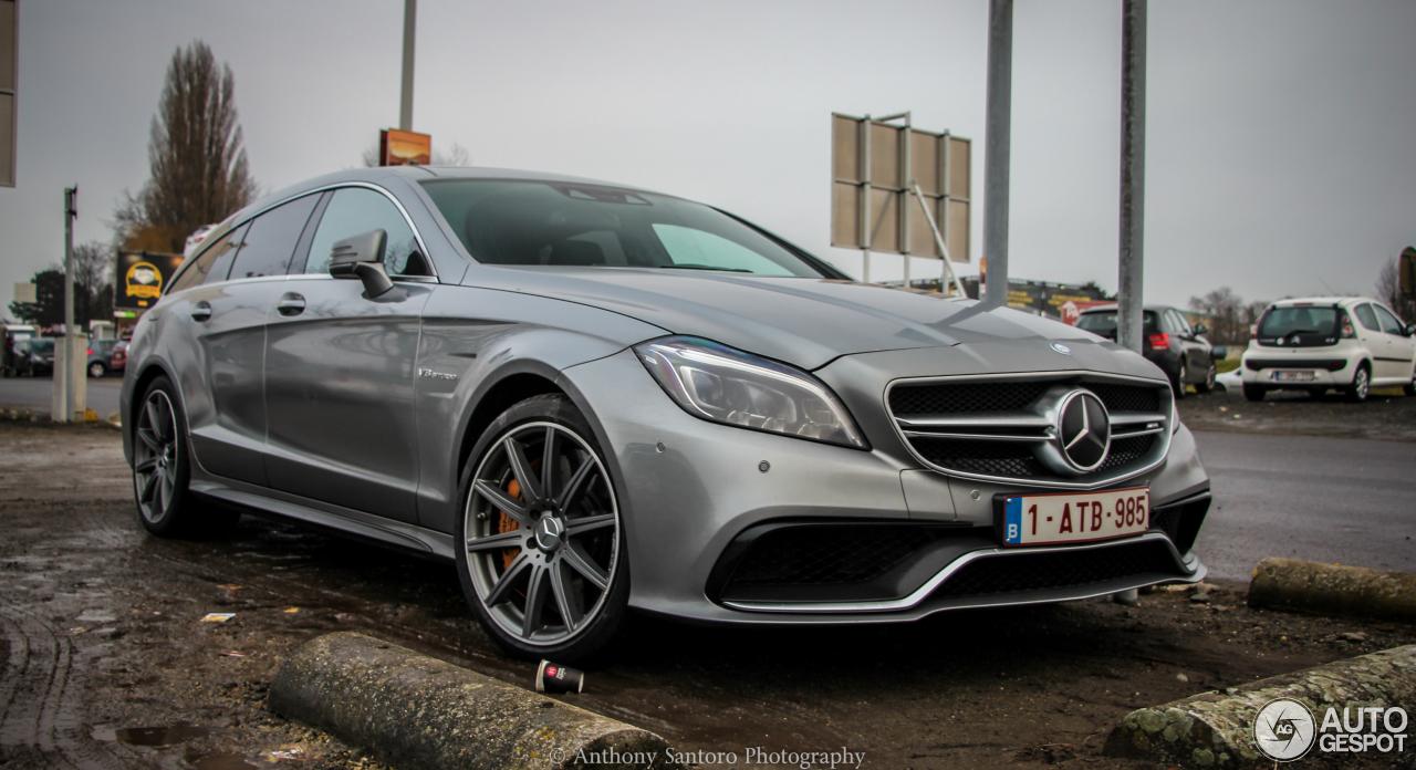 Mercedes-Benz CLS 63 AMG S C218 2015 - 18 December 2014 - Autogespot