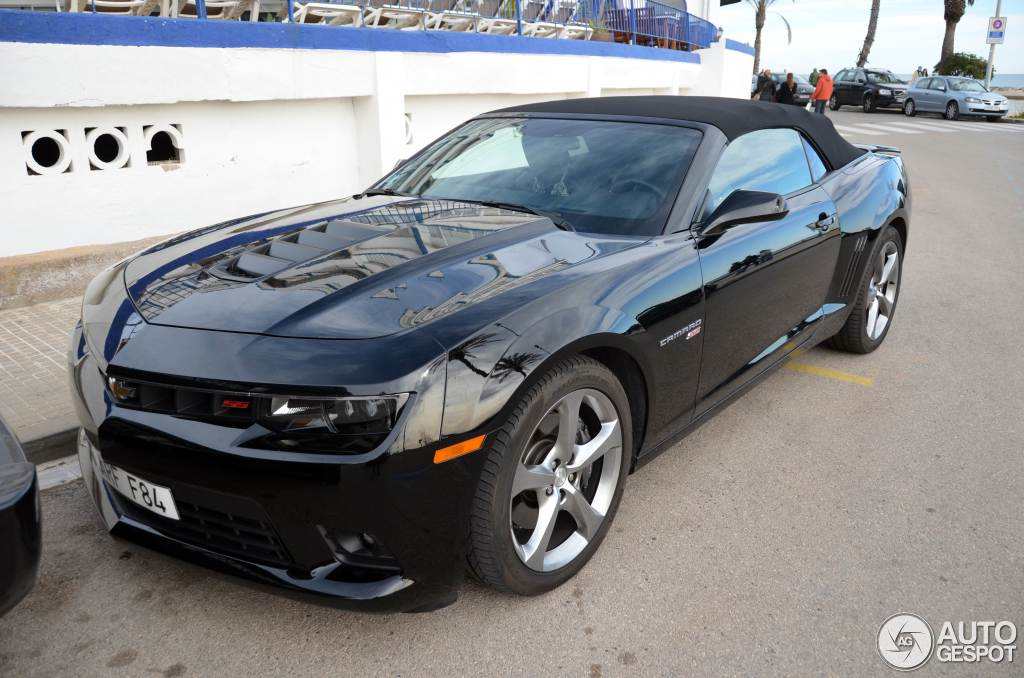 Chevrolet Camaro Ss Convertible 2014 1 February 2015