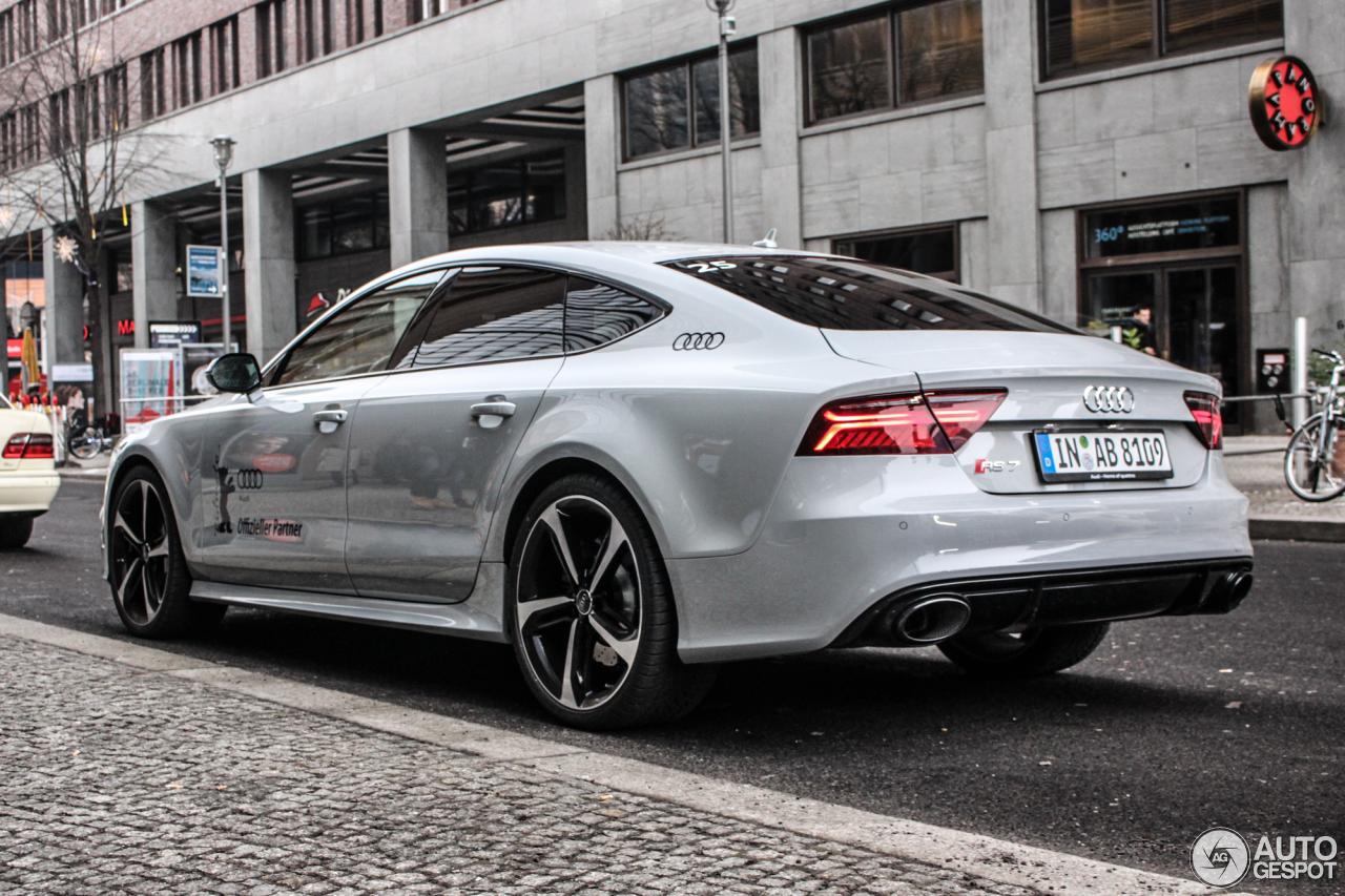 Audi Rs7 Sportback 2015 8 Fvrier 2015 Autogespot