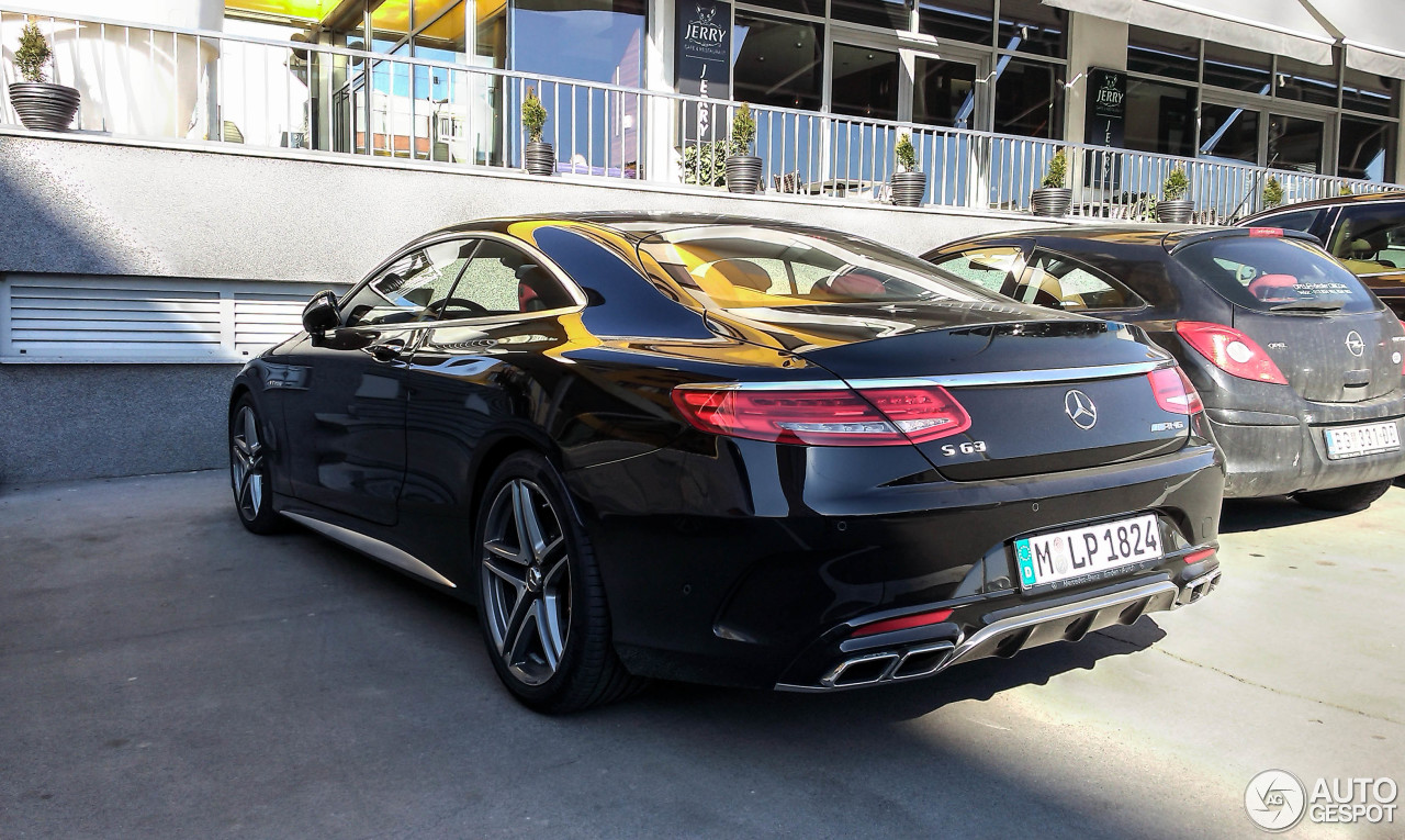 Mercedes benz s 63 amg coup c217 18 february 2015 for Mercedes benz s coupe 2015