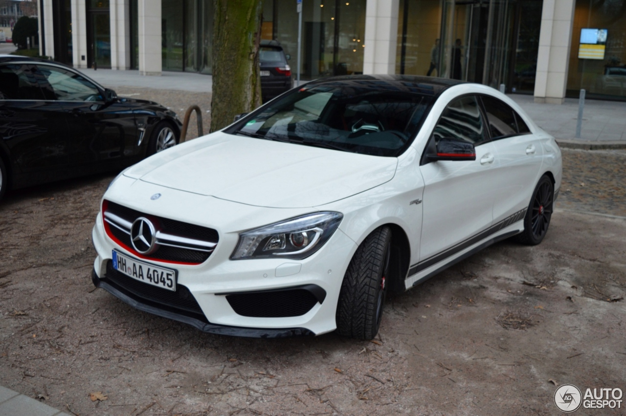 mercedes benz cla 45 amg edition 1 c117 21 february 2015 autogespot. Black Bedroom Furniture Sets. Home Design Ideas