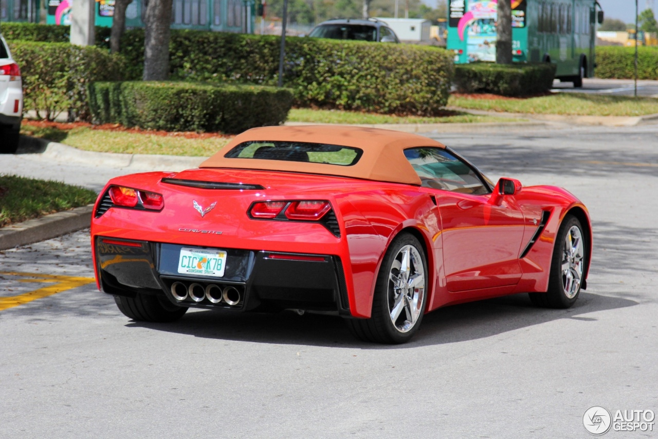 Chevrolet Corvette C7 Stingray Convertible 23 February
