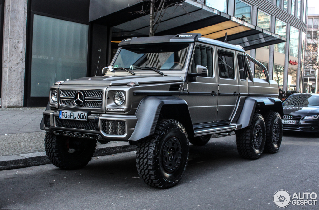 Mercedes benz g 63 amg 6x6 28 februar 2015 autogespot for Mercedes benz amg 6x6