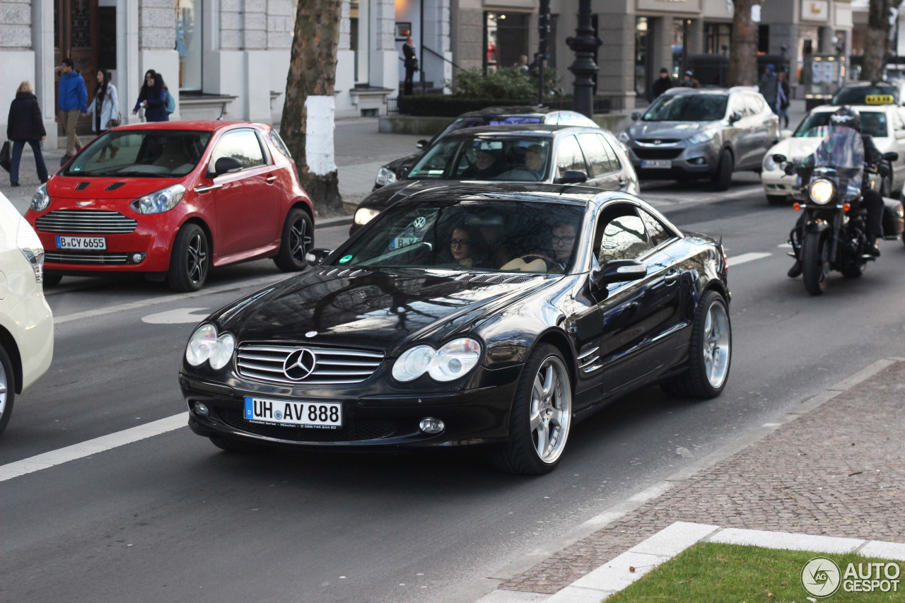 mercedes benz sl 600 r230 28 februar 2015 autogespot. Black Bedroom Furniture Sets. Home Design Ideas
