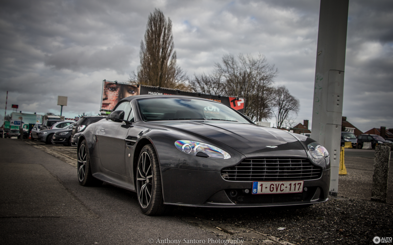 Aston Martin V Vantage S Roadster March Autogespot - Aston martin 117