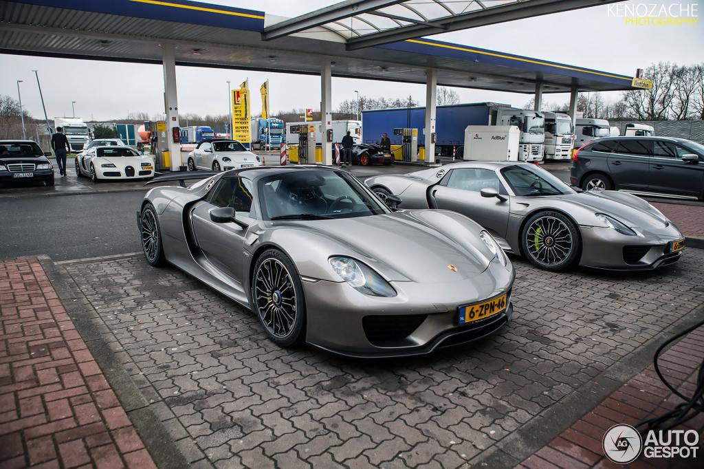 Porsche 918 Dubai, Porsche 918 Rear, Porsche 918 Engine, Porsche 918  Production,
