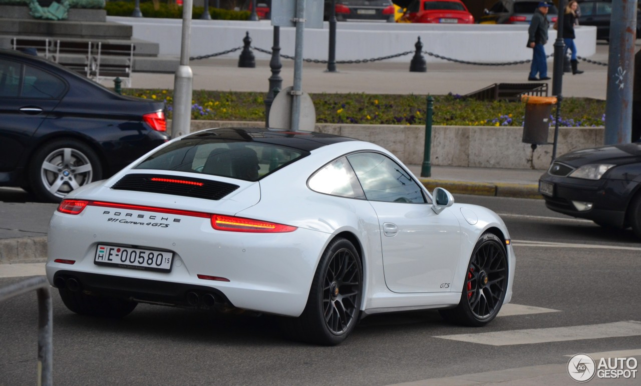 porsche 991 carrera 4 gts 9 march 2015 autogespot. Black Bedroom Furniture Sets. Home Design Ideas