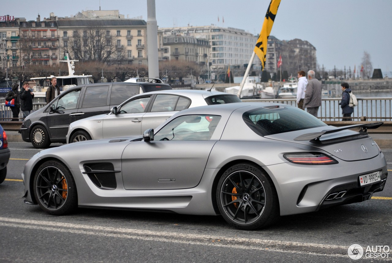 7 i mercedes benz sls amg black series 7