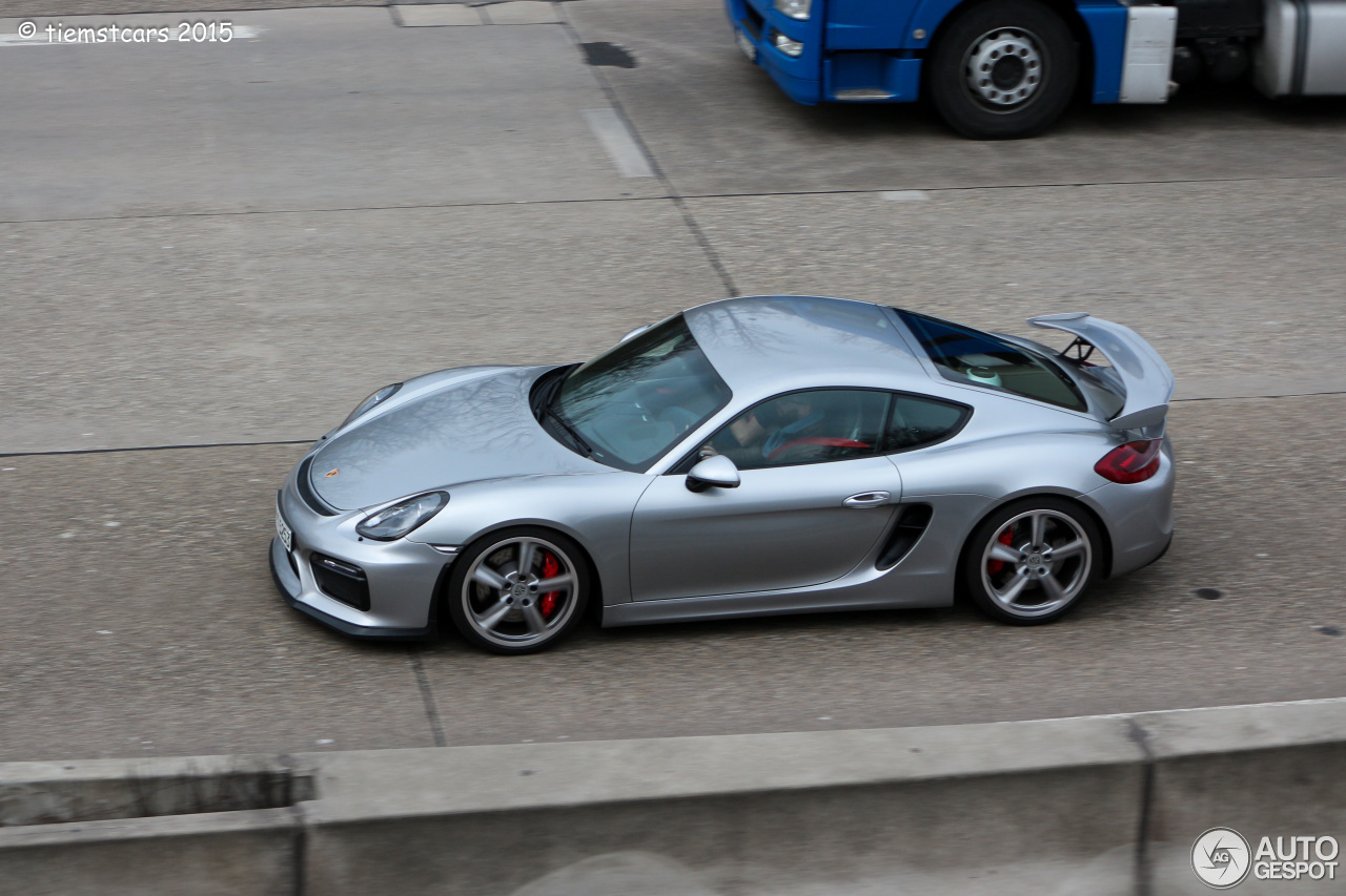 porsche 981 cayman gt4 14 march 2015 autogespot. Black Bedroom Furniture Sets. Home Design Ideas