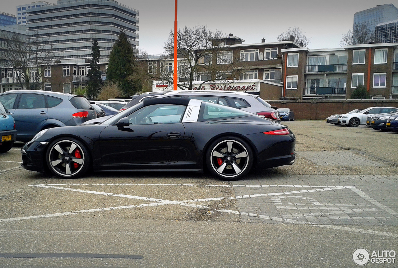 porsche 991 targa 4s 16 march 2015 autogespot. Black Bedroom Furniture Sets. Home Design Ideas