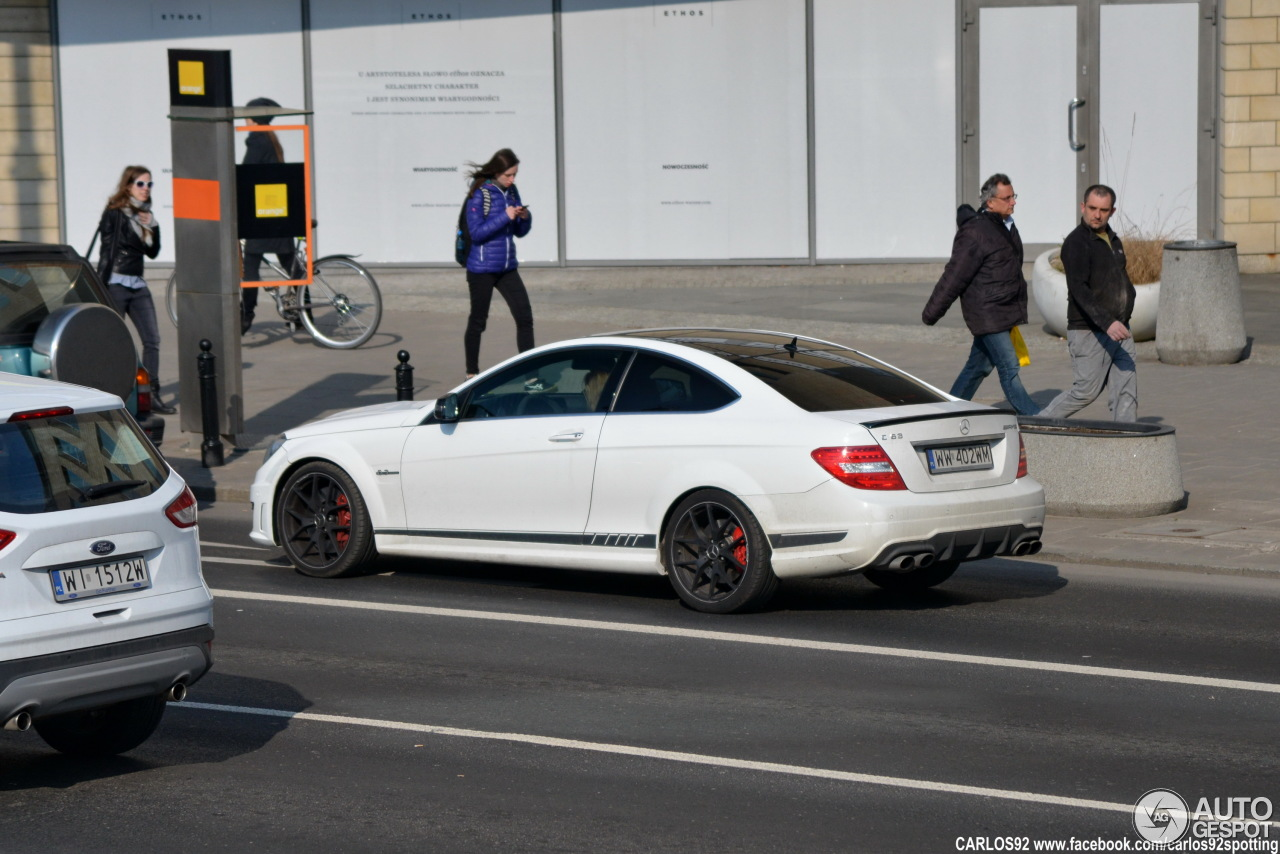 Mercedes benz c 63 amg coup edition 507 20 march 2015 for Mercedes benz c63 amg 507 edition 2015