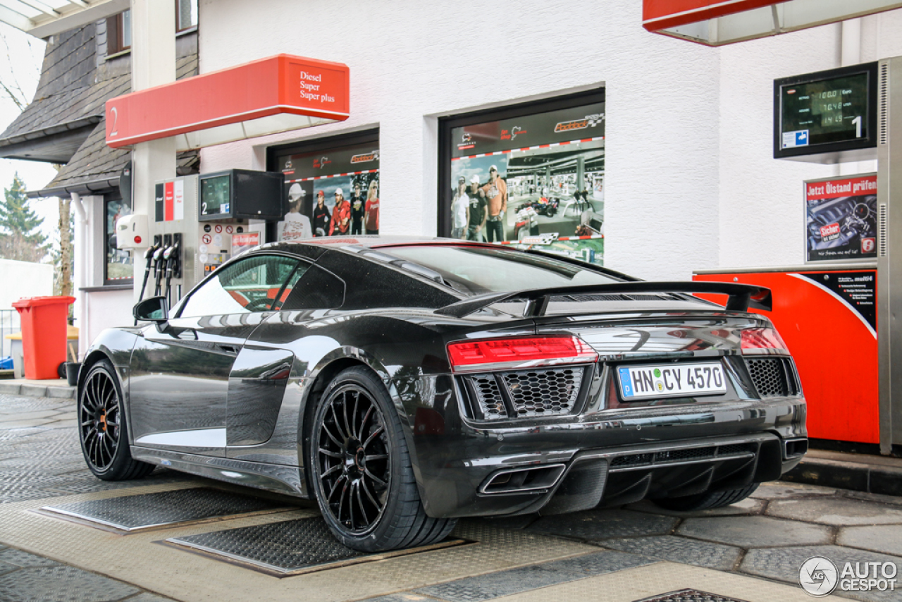 Audi R8 V10 Plus 2015 25 Mars 2015 Autogespot
