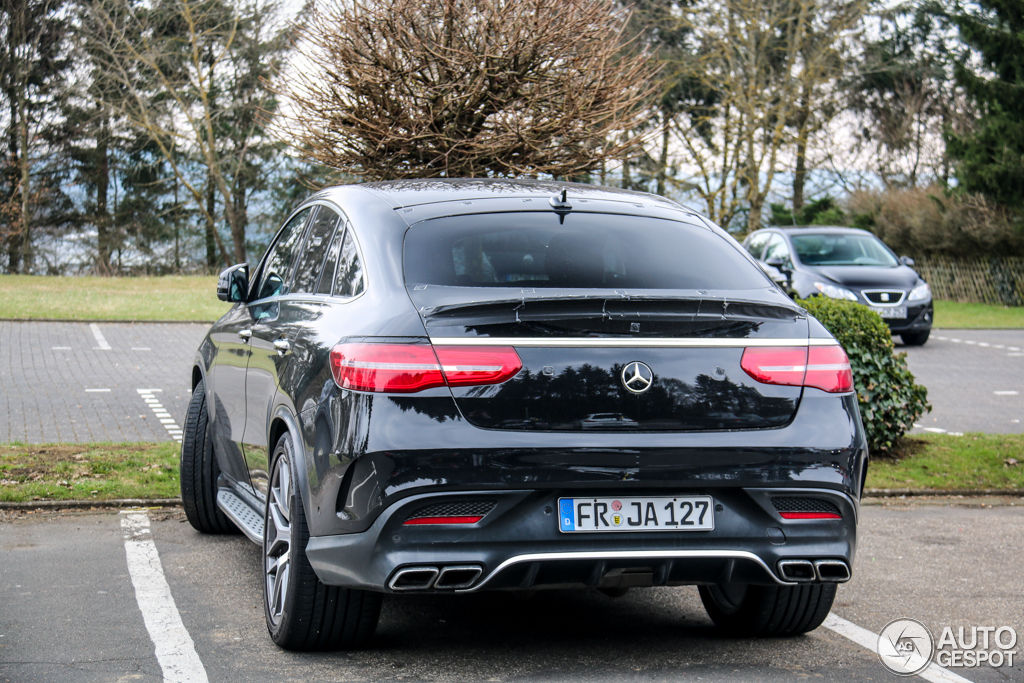 Mercedes Amg Gle 63 Coupe 25 Mrz 2015 Autogespot
