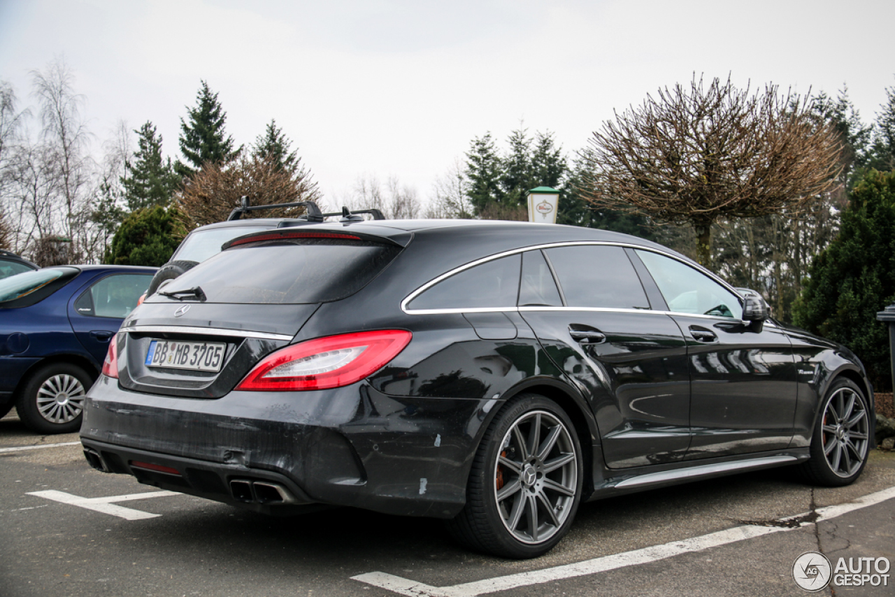 mercedes benz cls 63 amg x218 shooting brake 2015 25 march 2015 autogespot. Black Bedroom Furniture Sets. Home Design Ideas