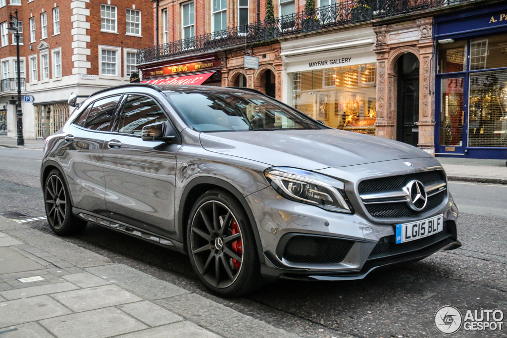 Mercedes benz gla 45 amg x156 25 march 2015 autogespot for Mercedes benz gla 45 amg