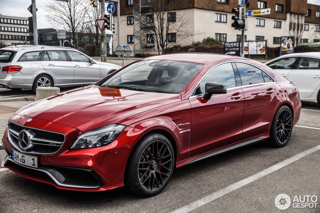 Mercedes Benz Cls 63 Amg S C218 2015 5 April 2015