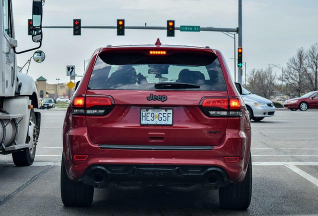Jeep Grand Cherokee SRT 2014 Red Vapor Edition