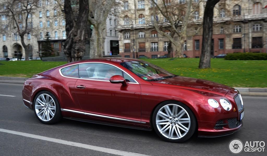 Bentley Continental Gt Speed 2012 7 April 2015 Autogespot