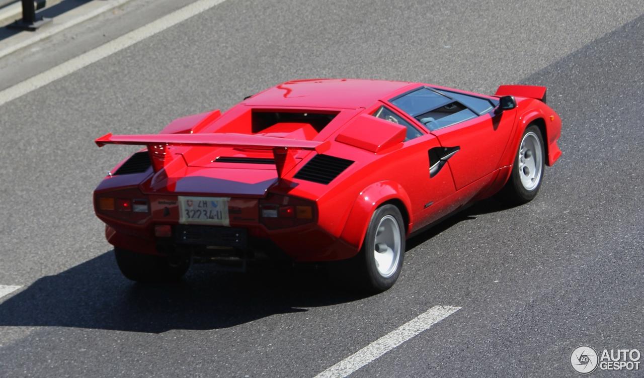 Lamborghini Countach 5000 Quattrovalvole 7 April 2015