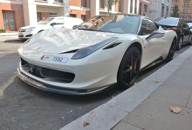 Ferrari 458 Italia Oakley Design