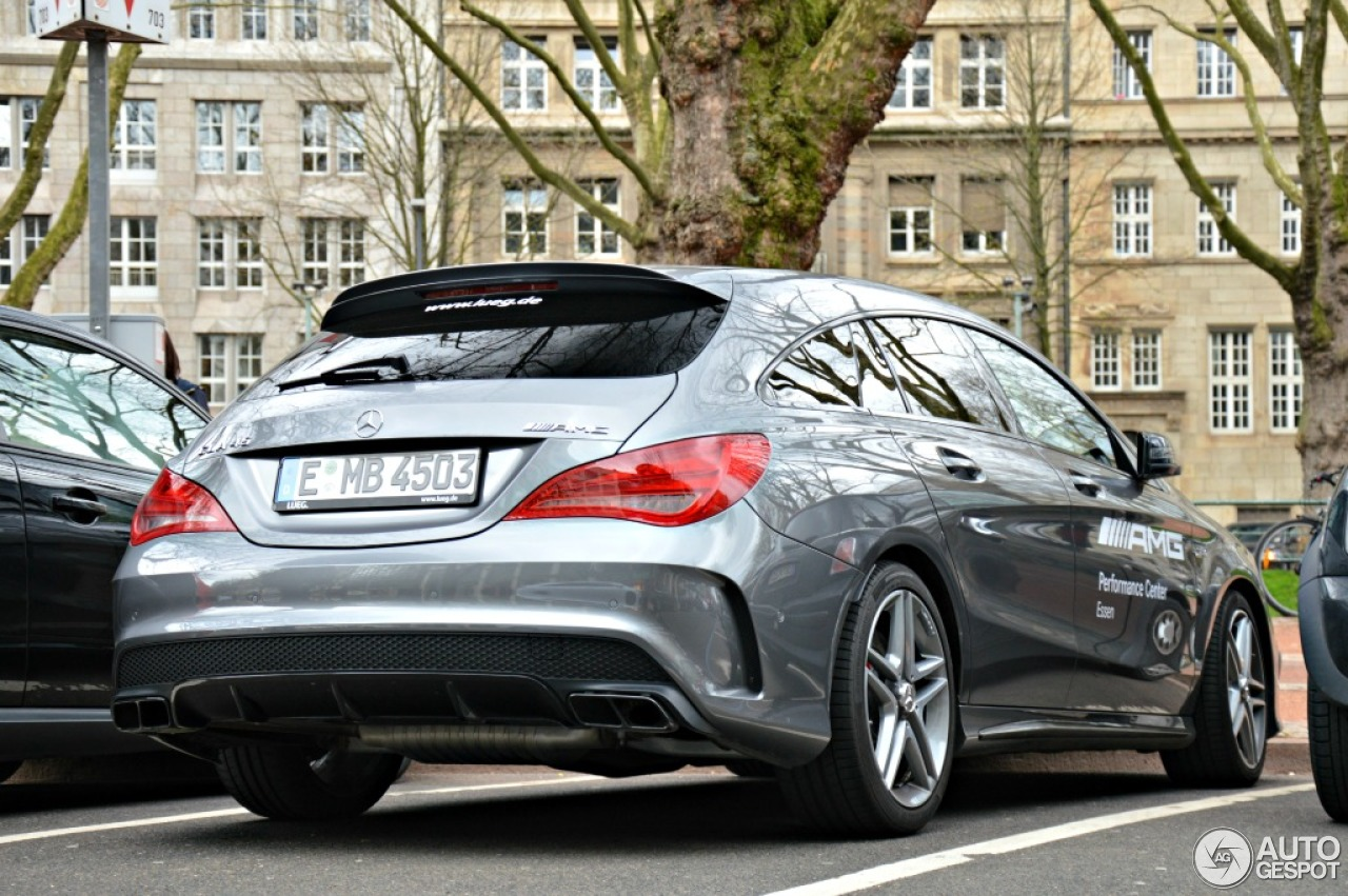 mercedes benz cla 45 amg shooting brake 12 april 2015. Black Bedroom Furniture Sets. Home Design Ideas