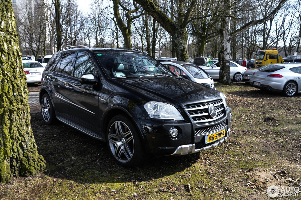 Mercedes Benz Ml 63 Amg W164 2009 13 April 2015 Autogespot