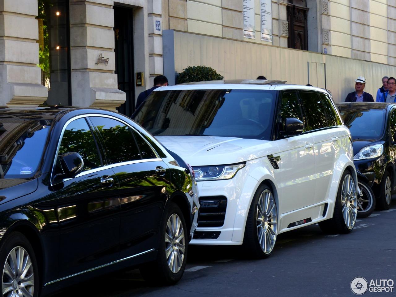 Land Rover Mansory Range Rover Sport 2013 15 Avril 2015
