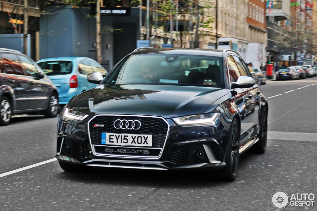 Audi Rs6 Avant C7 2015 19 Avril 2015 Autogespot