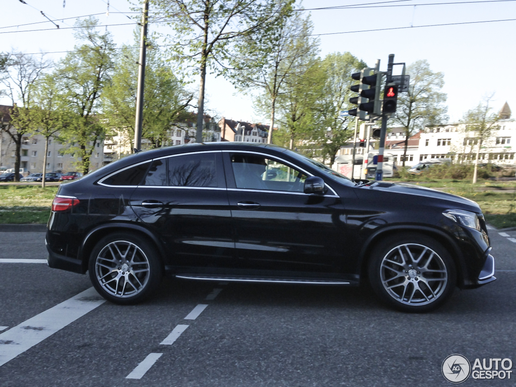 mercedes amg gle 63 coupe 22 april 2015 autogespot. Black Bedroom Furniture Sets. Home Design Ideas