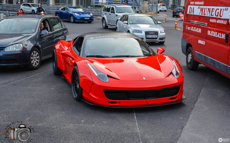 Ferrari 458 Italia Liberty Walk Widebody 22 April 2015 Autogespot