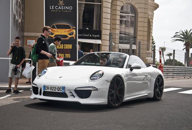 Porsche 991 Techart Carrera S Cabriolet