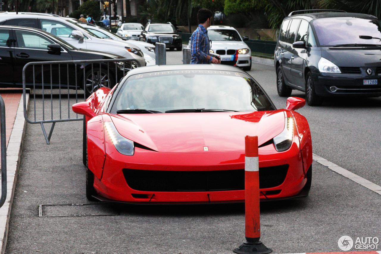 Ferrari 458 Italia Liberty Walk Widebody - 25 April 2015 - Autogespot