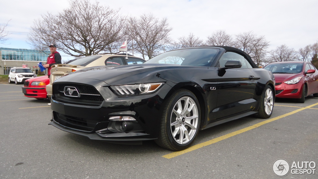 ford mustang gt 50th anniversary convertible 26 april 2015 autogespot. Black Bedroom Furniture Sets. Home Design Ideas