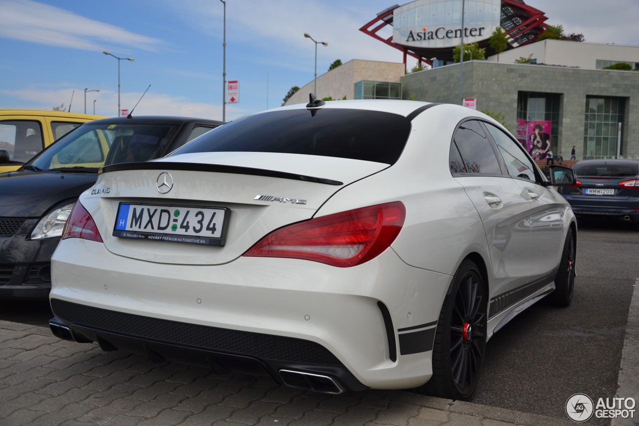mercedes-benz cla 45 amg edition 1 c117 - 26 april 2015 - autogespot