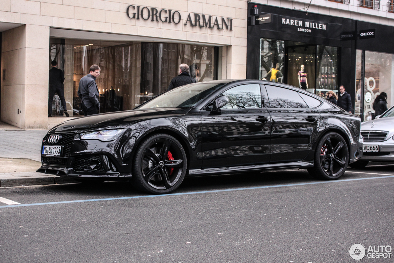 Audi Rs7 Sportback 2015 29 Avril 2015 Autogespot