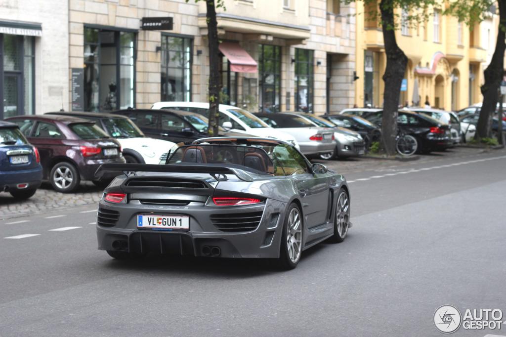 Porsche 997 anibal automotive design attack cabriolet 2 for Design attack