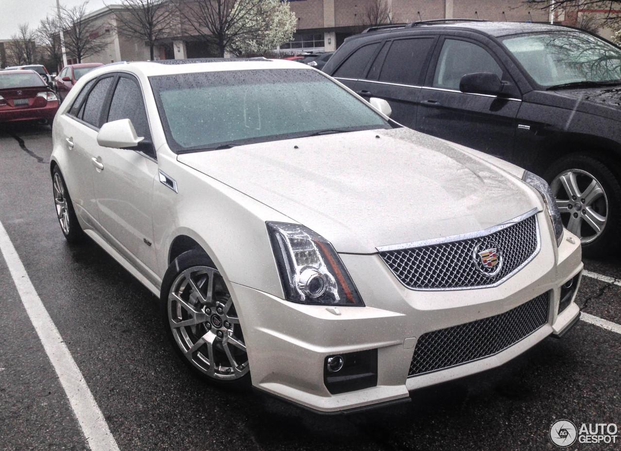 Cadillac Cts V Sport Wagon 4 May 2015 Autogespot