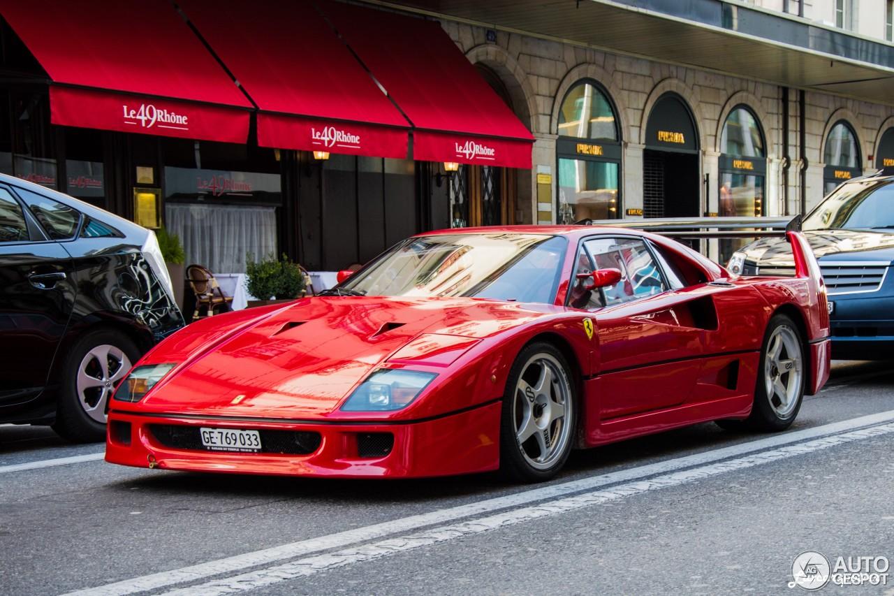 Ferrari F40 - 7 May 2015 - Autogespot