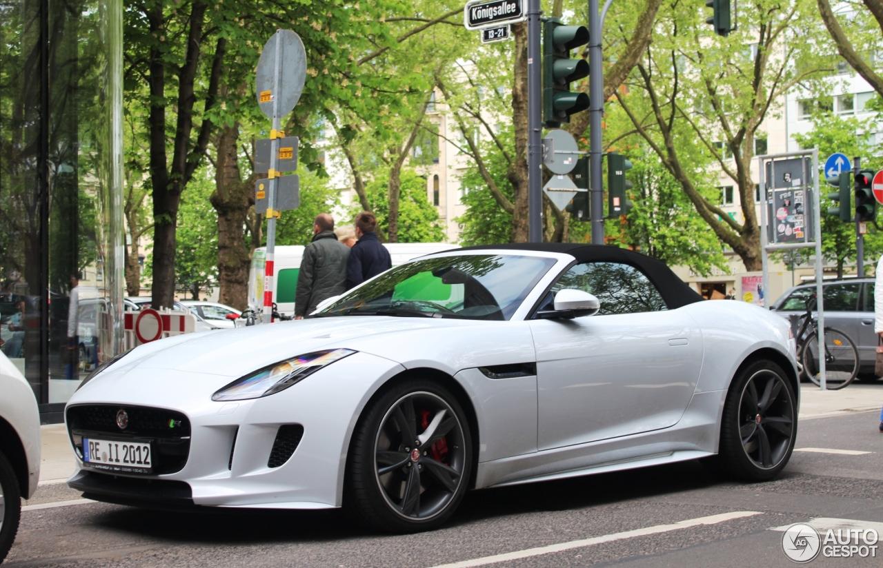 Jaguar F-TYPE R AWD Convertible - 7 May 2015 - Autogespot