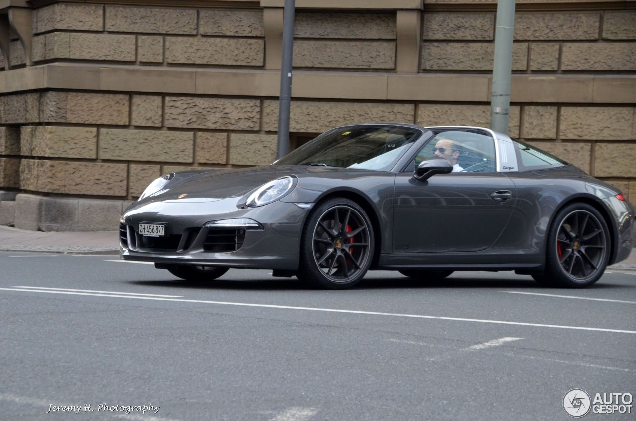 porsche 991 targa 4 gts 13 may 2015 autogespot. Black Bedroom Furniture Sets. Home Design Ideas