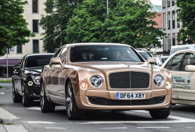 Bentley Mulsanne Speed 2015