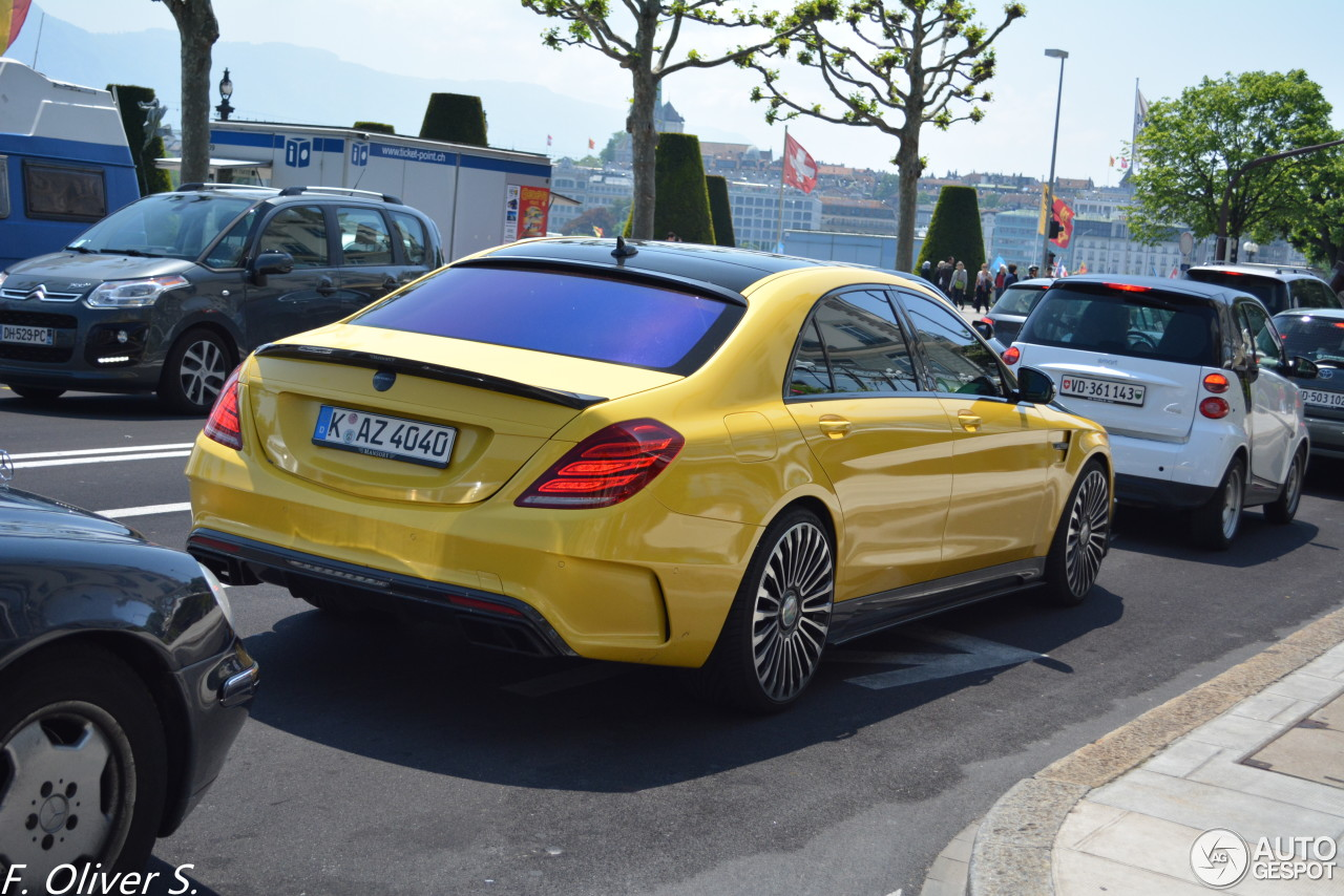 Mercedes Benz Mansory S63 Amg W222 16 May 2015 Autogespot