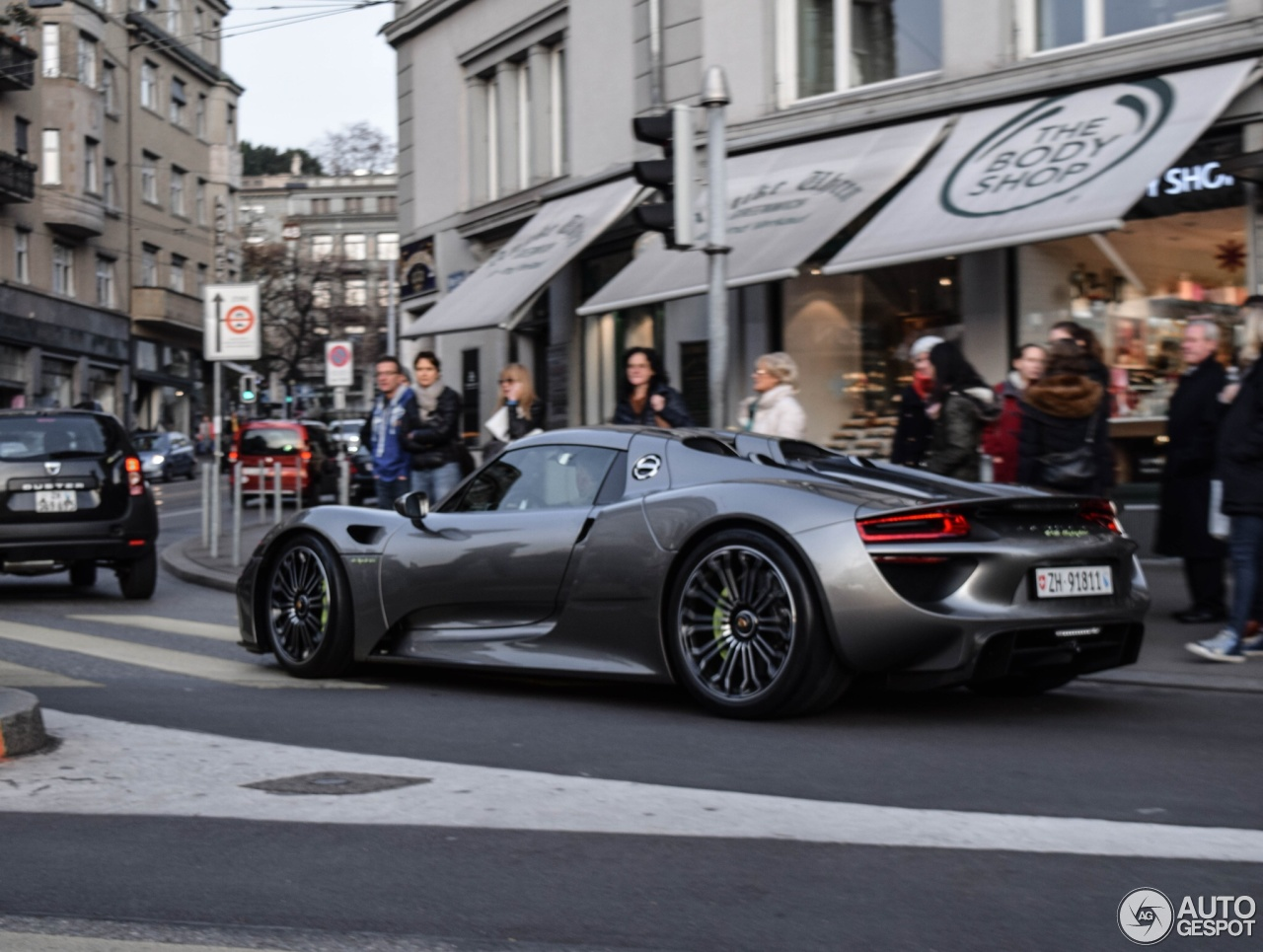 porsche 918 spyder 23 mai 2015 autogespot. Black Bedroom Furniture Sets. Home Design Ideas