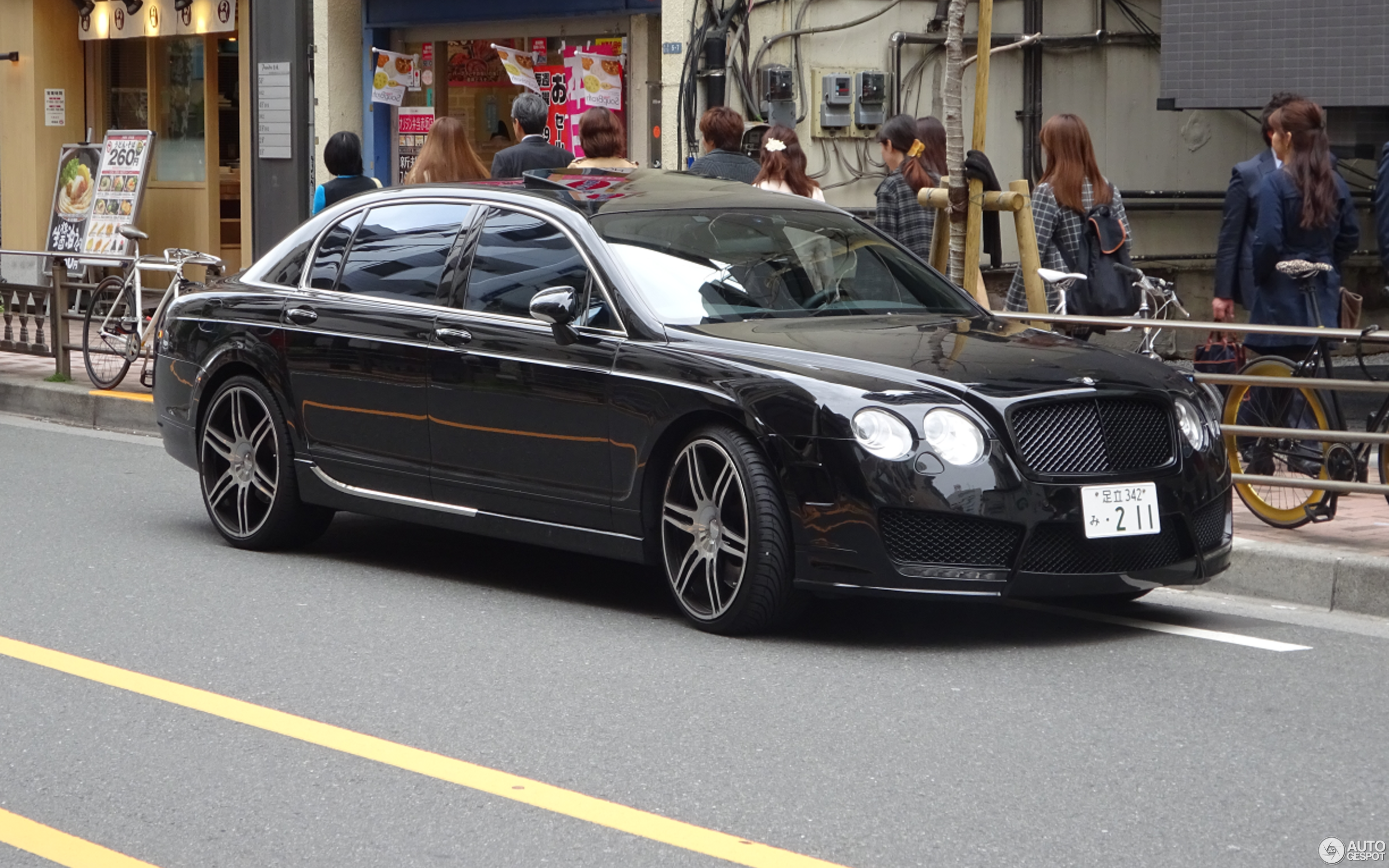 Bentley Mansory Continental Flying Spur Speed 24 May 2015 Autogespot
