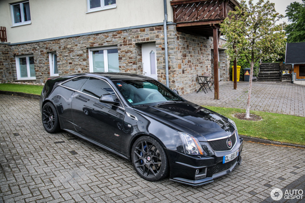 cadillac cts v coupe hennessey v700 25 mai 2015 autogespot. Black Bedroom Furniture Sets. Home Design Ideas