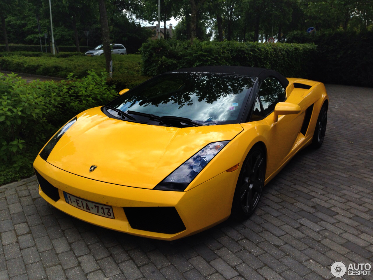 lamborghini gallardo spyder 25 may 2015 autogespot. Black Bedroom Furniture Sets. Home Design Ideas