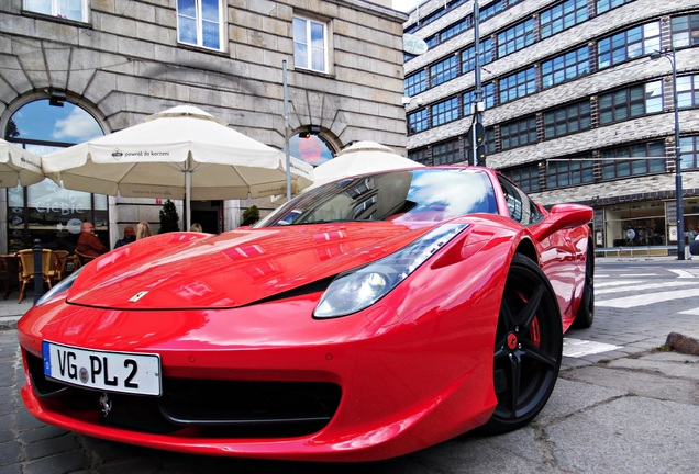 Ferrari 458 Italia Edo Competition