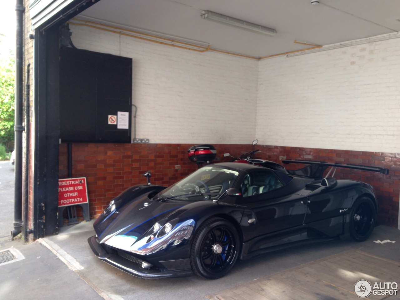 pagani zonda 760 vr roadster - 28 may 2015 - autogespot