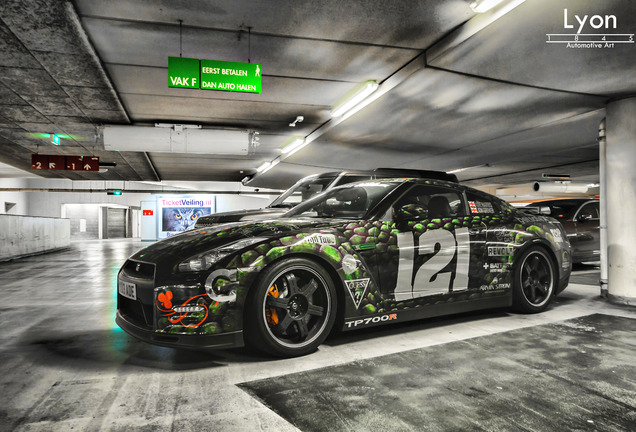 Nissan GT-R 2012 TP700R